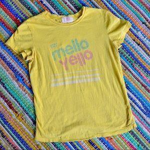 Mello Yello Vintage Wash Tee